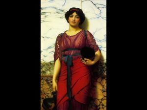 John William Godward - Idyll grego