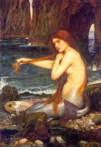 John William Waterhouse - A marmaid