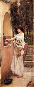John William Waterhouse - A Oferta Roman