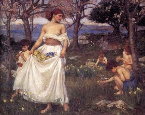 John William Waterhouse - a canção de primavera