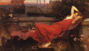 John William Waterhouse - Ariadne