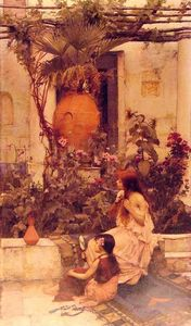 John William Waterhouse - No Capri