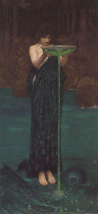 John William Waterhouse - circe invidiosa