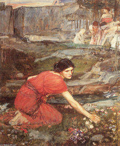 John William Waterhouse - Donzelas que escolhem estudar