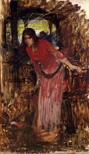 John William Waterhouse - estuda para o Senhora shallot