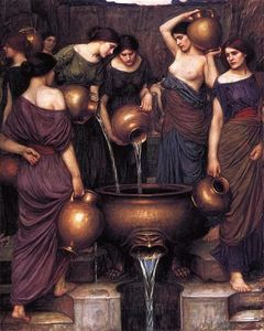 John William Waterhouse - O Danaides