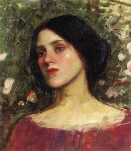 John William Waterhouse - O Bower de Rosa