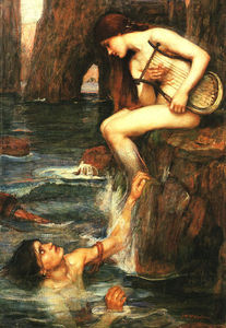 John William Waterhouse - a sirene