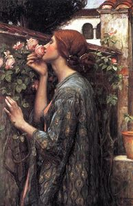 John William Waterhouse - a alma da rosa