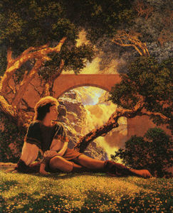 Maxfield Parrish - O valete