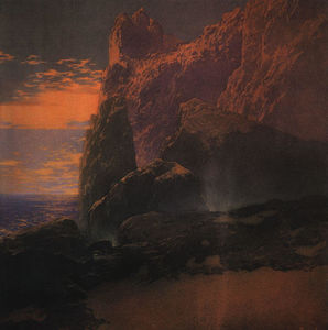 Maxfield Parrish - A Tempestade