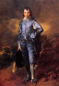 Thomas Gainsborough - a boy blue ( jonathan buttall )