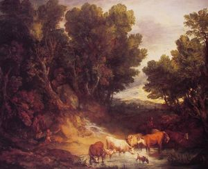 Thomas Gainsborough - O lugar molhando
