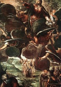 Tintoretto (Jacopo Comin) - O detail1 Ascensão