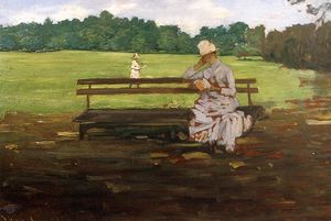 William Merritt Chase - Prospecto Parque , Brooklyn