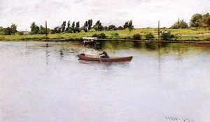 William Merritt Chase - Puxando para Shore