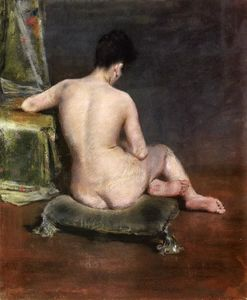 William Merritt Chase - Pure (aka The Model)