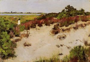 William Merritt Chase - Paisagem Shinnecock