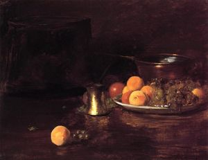 William Merritt Chase - natureza -   Fruta