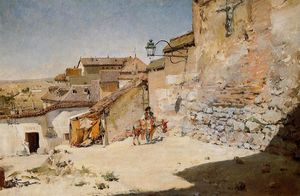 William Merritt Chase - Ensolarado Espanha
