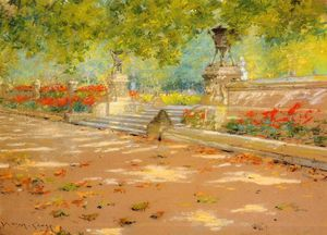 William Merritt Chase - Terraço prospecto  parque