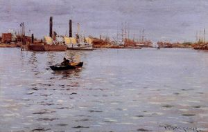 William Merritt Chase - o leste rio