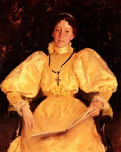 William Merritt Chase - A senhora de Ouro