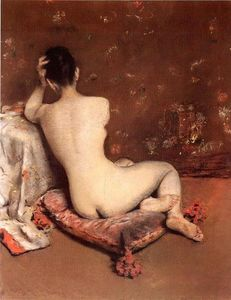 William Merritt Chase - o modelo