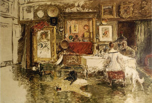 William Merritt Chase - A Décima Street Studio 1