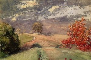 Winslow Homer - Outono , Mountainville , Nova York