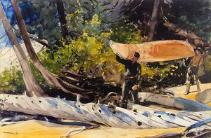 Winslow Homer - Fim do Portage