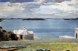 Winslow Homer - Águas Interiores, Bermudas