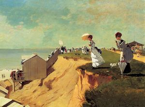 Winslow Homer - long branch , nova jersey