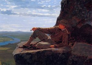 Winslow Homer - Alpinista Resting