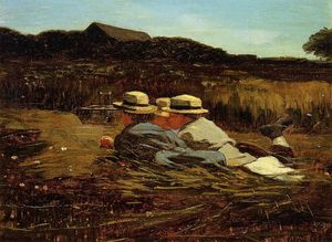 Winslow Homer - Os pássaros Catchers