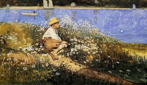 Winslow Homer - Assistindo o Porto