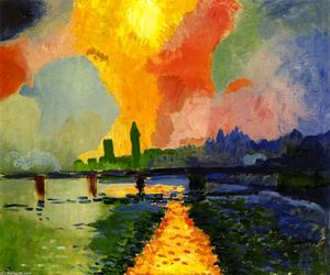 André Derain - Charing Cross Ponte