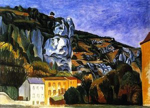 André Derain - Cliffs