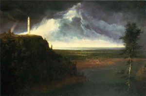 Thomas Cole - Monumento de Brock