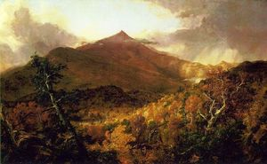 Thomas Cole - schroon mountain , Adirondacks