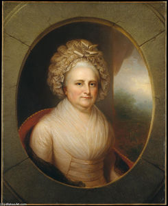 Rembrandt Peale - martha washington