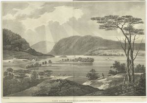 William Guy Wall - View from Fishkill olhando para West Point