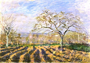 Alfred Sisley - Os Sulcos
