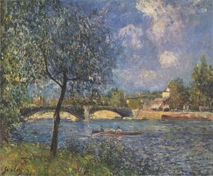 Alfred Sisley - Os Remadores