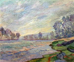 Jean Baptiste Armand Guillaumin - Margens do Rio