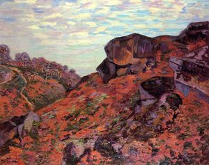 Jean Baptiste Armand Guillaumin - Crozant, o Sedelle Heights, Manhã
