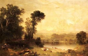 Asher Brown Durand - Cena pastoral