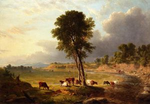 Asher Brown Durand - Ver no Catskills