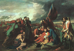 Benjamin West - A Morte de Wolfe