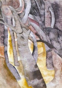 Charles Demuth - charles demuth - árvore formas 1916 - Aproximar . . .
